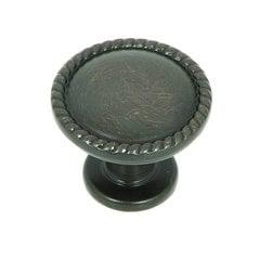 Palermo 1-1/4 Inch Diameter Oil Rubbed Bronze Cabinet Knob