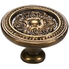 Eastlake Inspirations 1-1/2 Inch Diameter Cottage Antique Cabinet Knob