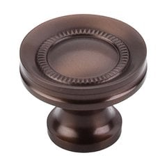 Oil Rubbed Bronze 1-1/4 Inch Diameter Oil Rubbed Bronze Cabinet Knob