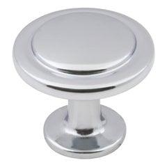 Gatsby Cabinet Knob 1-1/4 inch Diameter Polished Chrome