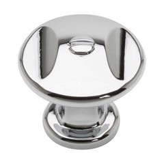 Ergo 1-3/8 Inch Diameter Polished Chrome Cabinet Knob