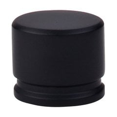 Sanctuary 1-3/8 Inch Length Flat Black Cabinet Knob