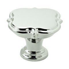 "Grace Revitalize Knob 1-3/8"" Dia Polished Nickel"