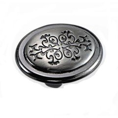 Cimarron 1-3/8 Inch Diameter Satin Nickel Cabinet Knob