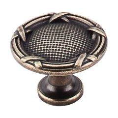 Edwardian 1-1/4 Inch Diameter German Bronze Cabinet Knob <small>(#M942)</small>