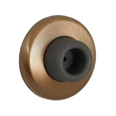 Concave Wrought Wall Bumper Satin Bronze <small>(#1407-612)</small>