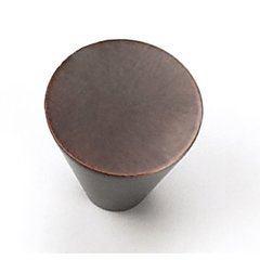 Delano 1 Inch Diameter Venetian Bronze Cabinet Knob