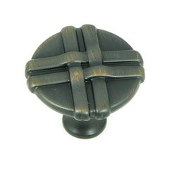Sheffield 1-3/8 Inch Diameter Oil Rubbed Bronze Cabinet Knob