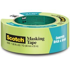 3M Scotch Green Painters Tape 1 inch x 60 yd