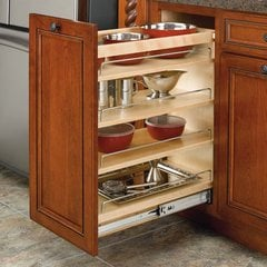 "Rev-A-Shelf Rev A Shelf 3 Tier Organizer 11""-Wood 448-BC-11C"