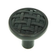 Sheffield 1-1/4 Inch Diameter Oil Rubbed Bronze Cabinet Knob <small>(#CP28-OB)</small>