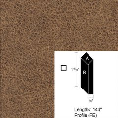 Wilsonart Bevel Edge - Western Bronze - 12 Ft <small>(#CE-FE-144-4873-60)</small>