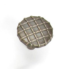 Midtown 1-1/4 Inch Diameter Antique Pewter Cabinet Knob <small>(#39406)</small>