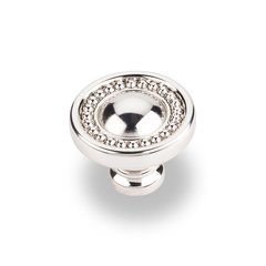 Prestige 1-3/8 Inch Diameter Polished Nickel Cabinet Knob
