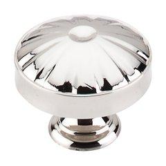 Dakota 1-1/4 Inch Diameter Polished Nickel Cabinet Knob <small>(#M1611)</small>