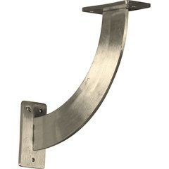 "Bradford 2""W x 9""D x 9""H Countertop Bracket - Stainless Steel Stainless Steel"