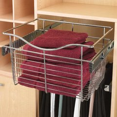 "Rev-A-Shelf Pullout Wire Basket 24"" W X 20"" D X 11"" H CB-242011CR-5"