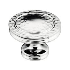 Mountain Lodge 1-3/8 Inch Diameter Chrome Cabinet Knob
