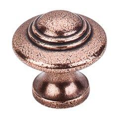 Britannia 1-1/4 Inch Diameter Old English Copper Cabinet Knob <small>(#M15)</small>