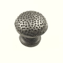 Savannah 1-1/4 Inch Diameter Wrought Iron Cabinet Knob