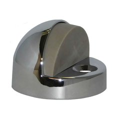 High Dome Floor Stop 1-1/4 inch H Bright Chrome <small>(#1442-625)</small>