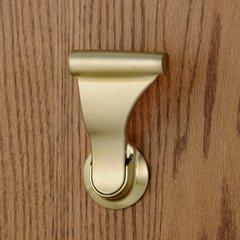 UltraLatch for 1-3/4 inch Door Satin Brass <small>(#L24-4)</small>