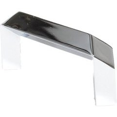 Venus 2-1/2 Inch Center to Center Polished Chrome Cabinet Pull