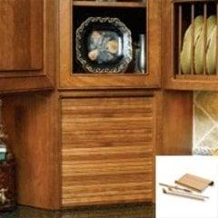 24 inch Wide Tambour Door Kit - Maple