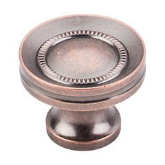 Somerset 1-1/4 Inch Diameter Antique Copper Cabinet Knob <small>(#M297)</small>
