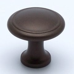 Adagio 1-3/16 Inch Diameter Oil Rubbed Bronze Cabinet Knob