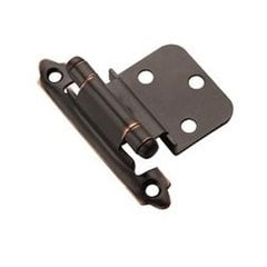 "3/8"" Inset Hinge Oil Rubbed Bronze-Sold Per Pair"