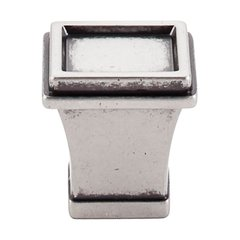 Great Wall 1-1/8 Inch Length Pewter Antique Cabinet Knob <small>(#TK185PTA)</small>