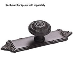 Versailles Forged Solid Brass 1-1/4 Inch Diameter Oil Rubbed Bronze Cabinet Knob