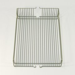 Wire Basket Set (2) 15-3/8 inch D Champagne
