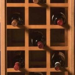 17X29 Sonoma Wine Rack Panels-Maple