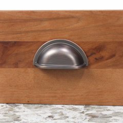Century Hardware Milan 3 Inch Center to Center Antique Bronze/Copper Cabinet Cup Pull 28443-AZC