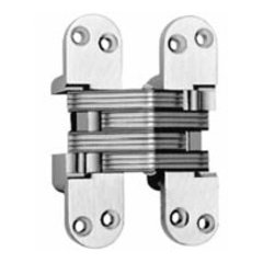 #218 Invisible Spring Closer Hinge Satin Brass <small>(#218ICUS4)</small>