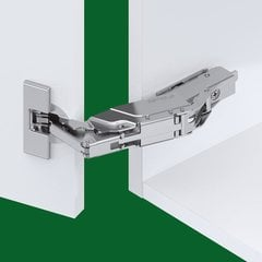 Tiomos Impresso 160° Overlay Hinge - Soft Close