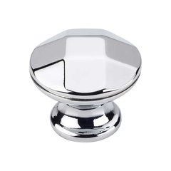 Drake 1-1/4 Inch Diameter Polished Chrome Cabinet Knob <small>(#423PC)</small>