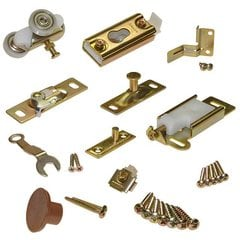 Series 100 Folding Door Hardware Set for 2 Doors