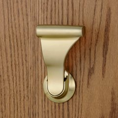 "Closet UltraLatch for 1-3/4""and 2 inch Door Satin Brass"