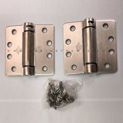 "LB4391-400 1/4"" Radius Corner Single Act Spring Hinge-Steel <small>(#LB4391C-400-630)</small>"