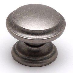 Euro Rustica 1-3/8 Inch Diameter Rustic Nickel Cabinet Knob
