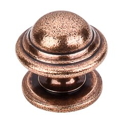Britannia 1-1/4 Inch Diameter Old English Copper Cabinet Knob <small>(#M11)</small>