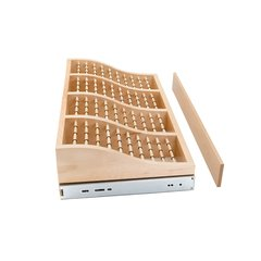 "Rev-A-Shelf 24"" Tie Rack-Wood CWTR-241041-2"