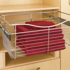 """Pullout Wire Basket 18"""" W X 16"""" D X 7"""" H <small>(#CB-181607CR)</small>"""