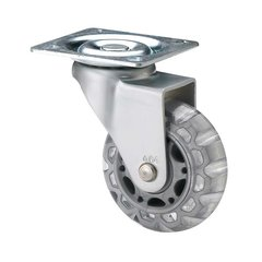 Furniture Caster With Swivel - Light Grey
