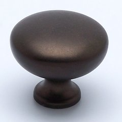 Adagio 1-1/4 Inch Diameter Oil Rubbed Bronze Cabinet Knob