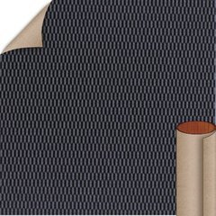 Basic Black Hautelink Textured Finish 4 ft. x 8 ft. Vertical Grade Laminate Sheet