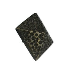 Medium Textured Pyramid Clavo 1-3/8 inch Diameter - Antique Brass <small>(#HCL1504)</small>